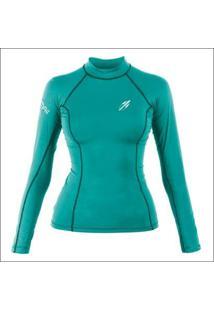 Camiseta Diva Pro 7B Surf Mormaii Feminina - Feminino-Azul Claro