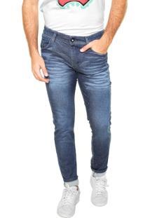 Calça Jeans Fiveblu Slim Seattle Azul