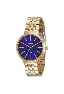 Relógio Analógico Mondaine Feminino - 94970Lpmvde3 Dourado