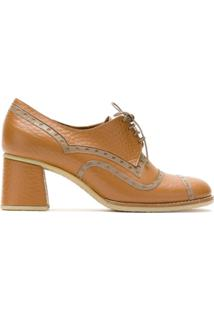 Sarah Chofakian Ankle Boot Apollo De Couro - Marrom