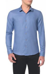 Camisa Slim Cannes Microestampa - 46