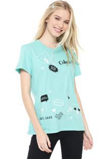 Camiseta Coca-Cola Jeans Aroma Verde