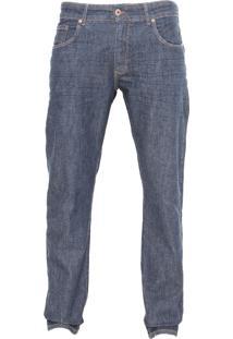 Calça Jeans Forum Reta Paul Azul-Marinho