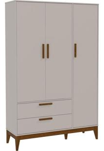 Guarda Roupa Infantil Nature 3 Portas Cinza Eco Wood – Matic