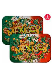 Jogo Americano Love Decor Mexico Verde