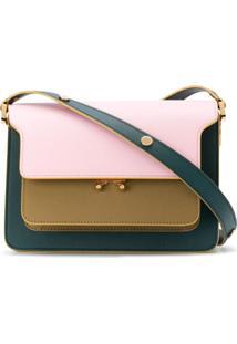 Marni Medium Trunk Shoulder Bag - Rosa