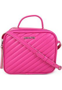 Bolsa Anacapri Mini Bag Matelassê Feminina - Feminino-Pink
