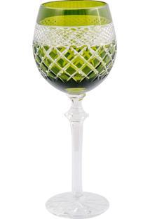 Taça De Cristal Lodz Para Vinho 400 Ml Sadul