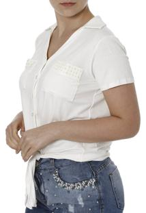 Camisa Manga Curta Autentique Off White