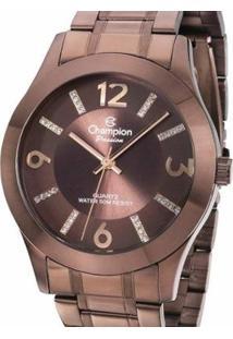 Relógio Champion Cn28713R Feminino - Feminino-Marrom