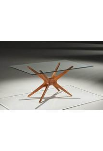 Base Mesa Jantar Retangular Xs Cor Nogal - 14689 - Sun House