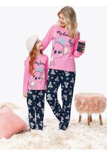 Pijama Feminino Coala Malwee Liberta