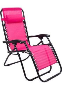 Cadeira Espreguiçadeira Pelegrin Gravidade Zero Em Tela Mesh - Unissex
