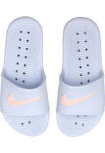 Chinelo Slide Nike Sportswear Kawa Shower Cinza