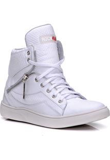 Tênis Sneaker Masculino Rockfit Hole Branco