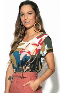 Blusa Itatiaia Multicolorido