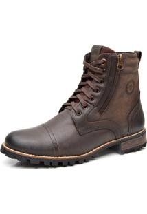 Bota Liferock Lr11024-3 Cafe