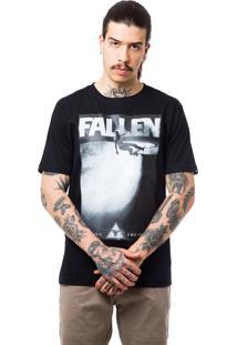 Camiseta Fallen Skate Track Preto