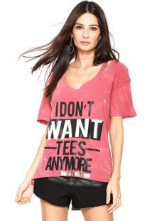 Camiseta Lança Perfume Acid Rosa