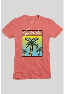 Camiseta Reserva Coqueiro - Masculino-Vermelho Claro