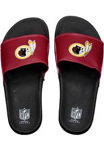 Chinelo Washington Redskins Slip On Colors - Nfl - Masculino - Masculino