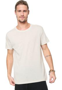 Camiseta Osklen Dye Bege