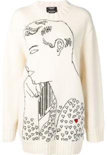 Calvin Klein 205W39Nyc Suéter Warhol Com Padronagem - Branco