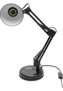 Luminária Pixel- Preta- 45X16X16Cm- Bivolt- Urban