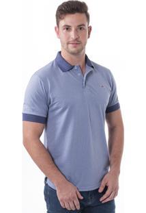Camisa Polo Vista Mare Montenegro Slim Fit Az