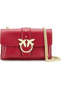 Pinko Big Love Shoulder Bag - Vermelho
