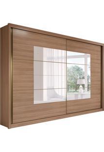 Guarda-Roupa Casal Com Espelho Toronto Plus Flex 2 Pt 6 Gv Carvalho