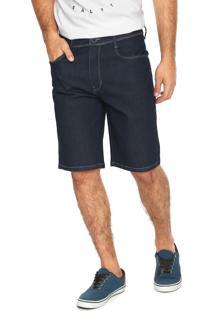 Bermuda Jeans Hang Loose Spot Azul-Marinho