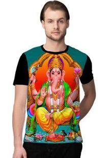 Camiseta Stompy Psicodelica18 Masculina - Masculino-Preto