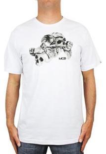 Camiseta Mcd Nightmare - Masculino-Branco