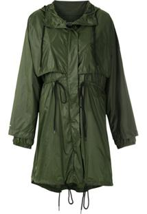 Osklen Jaqueta Parka Superlight Travel - Verde