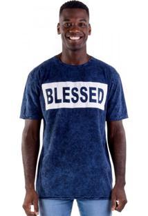 Camiseta Blessed Marmorizada
