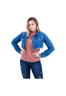 Jaqueta Jeans Arauto Modelo Cropped