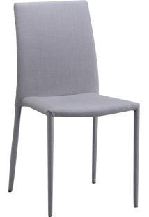 Cadeira De Jantar Glam Bege Or Design