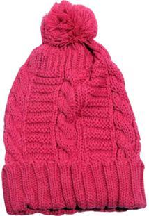 Gorro Smm Acessórios Mini Trança Rosa Pink - Tricae