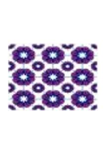 Jogo Americano (Kit 4 Unidades) Nerderia E Lojaria Geometrico Roxo Colorido