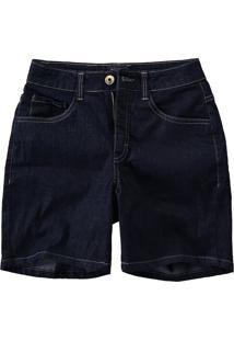 Bermuda Jeans Comfort Cintura Média Malwee