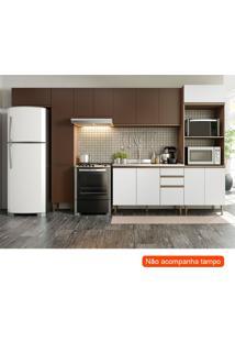 Cozinha Compacta Cook 14 Pt 2 Gv Oxid E Branca