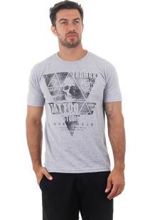 Camiseta Masculina Maidale - Cinza