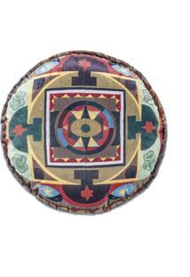 Capa De Almofada Guga Tapetes Redonda Mandala05