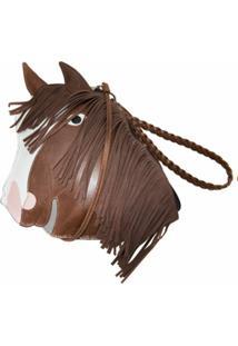 Sarah Chofakian Bolsa Tiracolo Cavalo De Couro - Marrom
