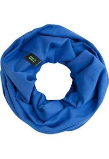 Lenço Redondo- Azul Escuro- Ø11X5Cm- High Tradebright Starts