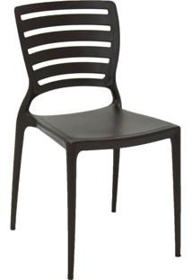Cadeira Tramontina Sofia 92237/109 Marrom Se