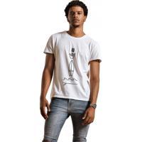 1b92f89033d0f Camiseta Masculina Joss Hang Loose Branco