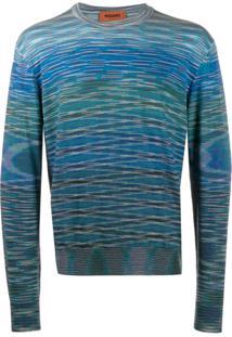 Missoni Suéter De Tricô - Azul