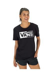 Camiseta Vans Vnb15Gtb - Feminina - Preto